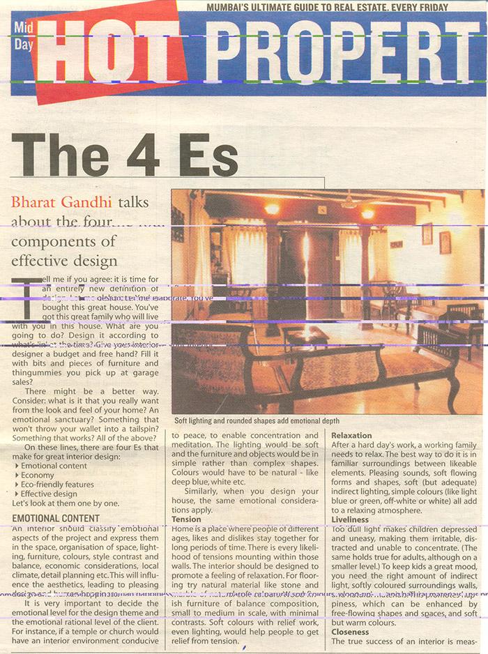 The 4 Es