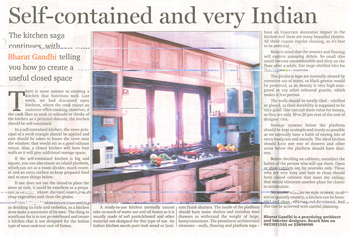 Self-contained and very Indian