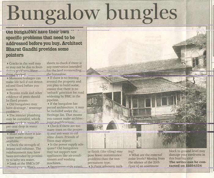 Bungalow bungles