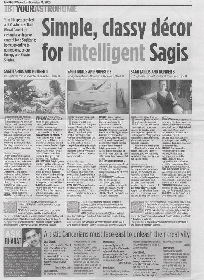 Simple, Classy décor for intelligent Sagis